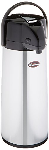 Winco Glass Lined Airpot, 2.5-Liter, Lever Top by Winco 2,5 L Airpot