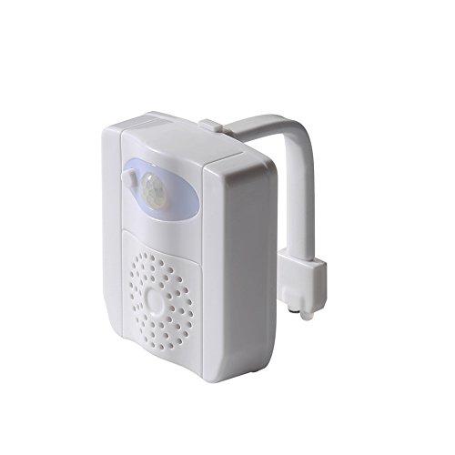 Handfly Salle de bains intelligente toilettes veilleuse LED aromathérapie corps humain induction lampe de toilette 16 couleurs toilettes UV ultraviolet désinfectant lampe toilettes