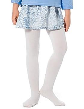 Envie Kinder Cotone Dolce Strumpfhosen in Einfarbiger Baumwolle für Mädchen