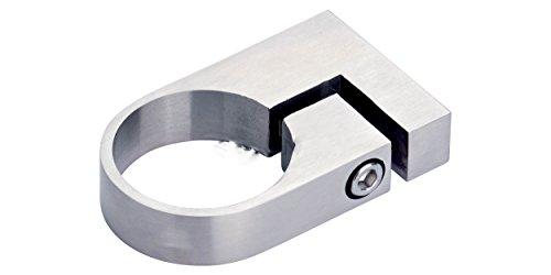 Rohrschelle V4A 33,7 mm geschliffen