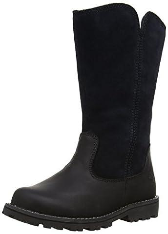 Timberland Ek Asphalt Trail Skyhaven Tall Boot, Bottines fille - Noir (Black), 35 EU (2.5 UK) (3