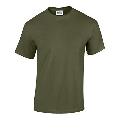 Gildan - Heavy Cotton T-Shirt '5000' / Military Green, L