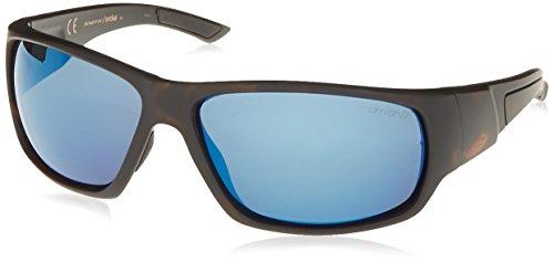 Smith Optics Discord Herren 64mm rechteckig Sonnenbrille, Uni, Smith Optics Discord Sunglasses - Men's, Matte Tortoise