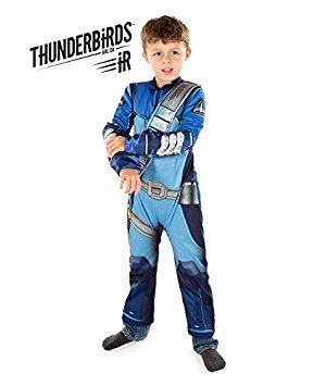Thunderbirds Are Go! Scott Tracy Fancy Dress Costume (Official ITV Licensed) (5-6 years) by Pretend to ()