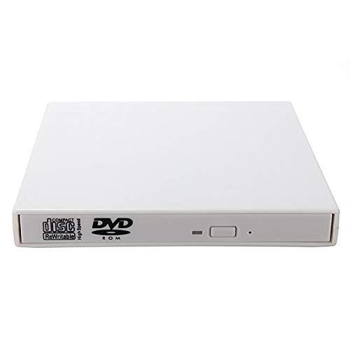 USB 2.0 Externes optisches Brennerlaufwerk CD DVD ROM Rewriter Brenner Writer für Laptop