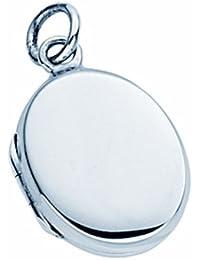 TF plain con camafeo oval, broche de plata de ley. 925