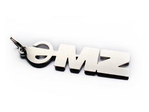 Preisvergleich Produktbild MZ Schlüsselanhänger Emblem ETZ ES TS MuZ Anhänger