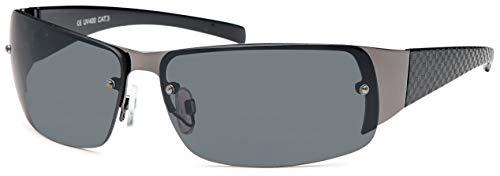 Feinzwirn polarisierte Sonnenbrille mit Polycarbonat Gläsern (smoke)