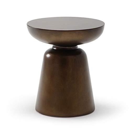 JTWJ Table Basse Simple Moderne Petit Appartement Or Simple ...