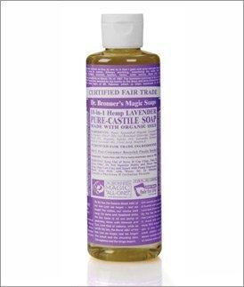 DR. BRONNER'S MAGIC SOAPS, Organic Pure Castile Liquid Soap Lavender - 8 oz by Dr. Bronner's Magic Soaps BEAUTY (English Manual) - English Lavender Liquid Soap