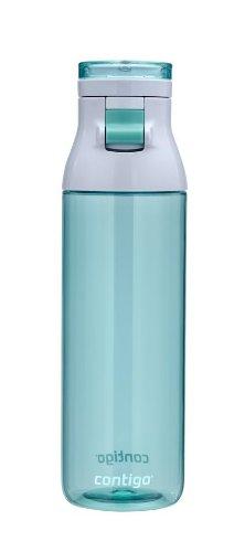 Contigo Jackson Water Bottle, 24-Ounce, Grayed Jade by Contigo (Jade Contigo)