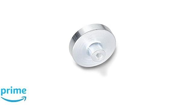 Ganter Normelemente Haltemagnete mit Innengewinde Magnetwerkstoff Hartferrit GN 50.4-HF-25-M4 3 St/ück