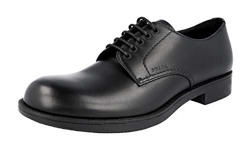 Prada 2EE191 Z4C F0002, Herren Mokkasins, Schwarz - Schwarz - Größe: 41 EU - Prada Schuhe Männer Kleid
