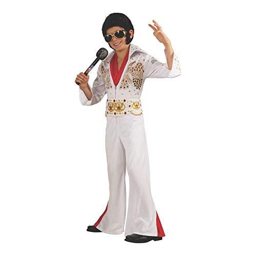 Boy 's Deluxe Elvis Kostüm - Deluxe Kinder Elvis Kostüm