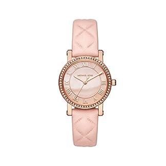 Michael Kors Reloj Analógico para Mujer de Cuarzo con Correa en Cuero MK2683