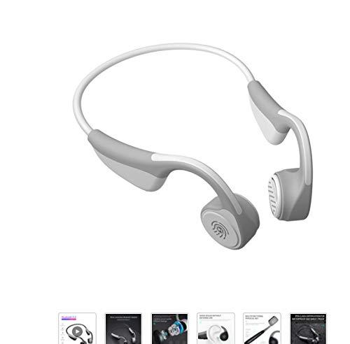 Zlywj Auricolari Bluetooth Cuffie Bluetooth 5.0 Cuffie per Conduzione Ossea Auricolari Sportivi Wireless Vivavoce Cuffie Wireless Impermeabili
