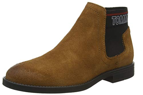 Tommy Hilfiger Corporate Elastic Chelsea Boot, Botines...