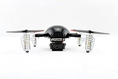 Extreme Fliers Remote Control Flying Quadricopter Micro Drone 2.0 with Video Camera