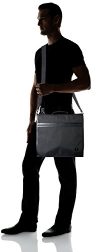 Fred Perry Cordura Uomo Shoulder Bag Nero Schwarz