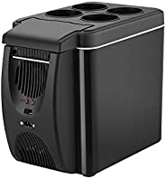 Refrigerator,mini refridgerator The New Simple 6 Liter Mini Portable Car Heating And Cooling Box Car Heating A