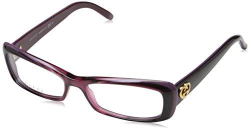 Gucci Damen GG-3516 Brillengestelle, Rot, 52