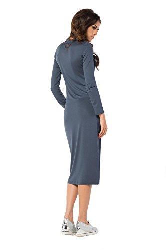 AE -  Vestito  - Maniche lunghe  - Donna Grafite