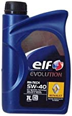 Elf Motoröl Evolution RN-Tech 5W-40, 1 Liter
