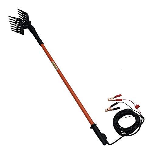 Fp-tech fp-zlome04-3 abbacchiatore scuotitore elettrico per olive, 140 w, 12 v, arancione