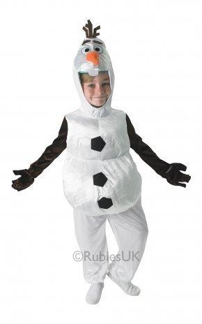 Infantil Muñeco De Nieve Congelada Olaf Fancy Dress Disfraz Disney - Medio - 5-6 Años