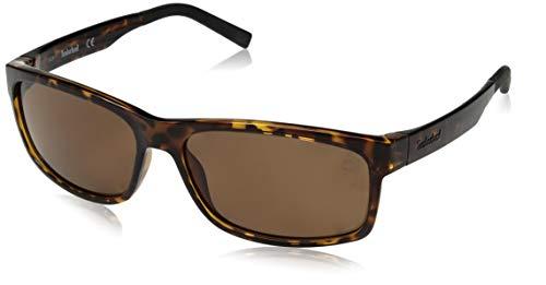 Occhiali da sole polarizzati timberland tb9104 c60 52h (dark havana / brown polarized)