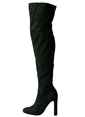 Cats BF-96452-6 Damen Langschaftstiefel Kaltfutter eleganter Boden Black
