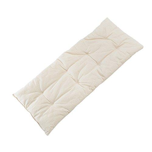 NONOMO Kunstfaser-Matratze für Federwiege Kleinkind I Hülle 100% Bio-Baumwolle I Füllung 100% Polyester I waschbar