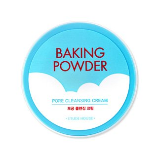 Pore Cleansing Wipes (Etude House, Baking Powder Pore Cleansing Cream,180ml)