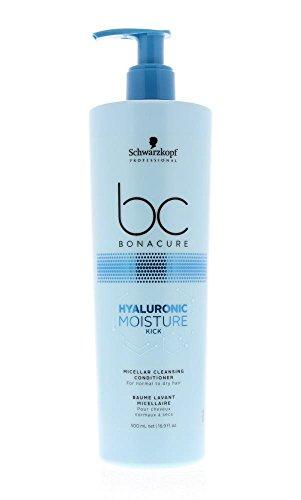 Schwarzkopf Professional BONACURE Hyaluronic Moisture Kick Micellar Cleansing Conditioner, 500 ml -