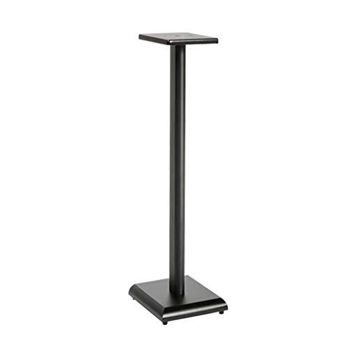 Standfüße Lautsprecherständer Monitorständer Audioständer Bücherregal-Lautsprecherständer Heimkino-Surround-Regal Wohnzimmer-Blumenständer Lagergewicht 20 Kg (Color : Black, Size : 31 * 26 * 80cm)