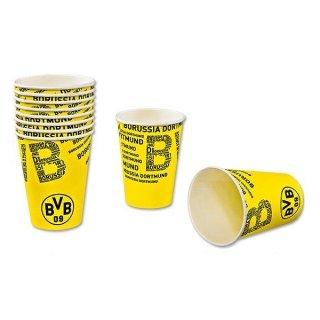 Borussia Dortmund tazza/Party bicchieri/tazza da campeggio/picnic-tazza 10 pezzi BVB 09