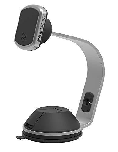 Scosche MPDB MagicMount Smartphone/GPS-Halterung für Auto, Zuhause oder Büro, frustfreie Verpackung, Pro Home/Office, Silber Scosche Gps