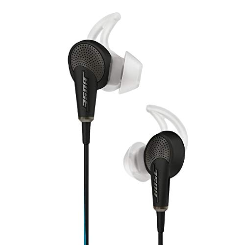Bose QuietComfort Acoustic Noise Cancelling 718840 0010 - Bose QuietComfort 20 Acoustic Noise-Cancelling In-Ear Headset, Black 718840-0010