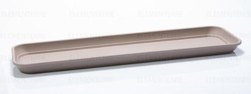 PLATEAU POUR JARDINIERE INIS 50 cm tourterelle