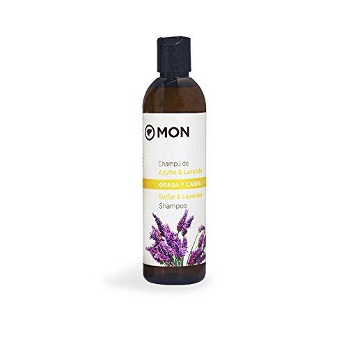 Mon Deconatur Shampoo für Schwefel und Lavendel, fettiges Haar und Schuppen - 300 ml