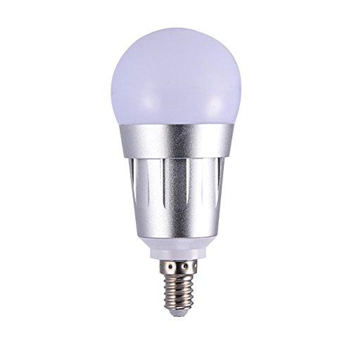 perg Transferencia WiFi Bombillas de LED de música de inteligente incluida, la Claro de atenuación voz mando a distancia Varía