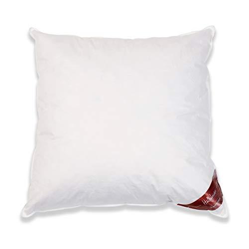 Traumschloss Halbdaune Daunen Kopfkissen Weiß 80 x 80 cm