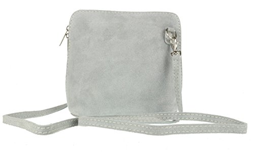 Elegant Fashions, Borsa a tracolla donna Light Grey