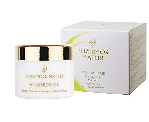 PHARMOS NATUR - INDIVIDUALPFLEGE - ROSENCREME - 50 ML