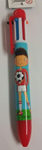 Rachel Ellen-Penna a sfera 6 colori, motivo calciatore