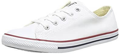 Converse CT Dainty Ox C537204 Damen Sneaker, Weiß (Blanc/Rouge), 36 EU