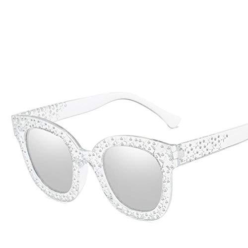 WYLJ Square Sonnenbrillen, Frauen Imitation Diamond Sonnenbrillen, Europa und den Vereinigten Staaten fließen personalisierte Sonnenbrillen Brillen