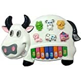 Khanak Musical Cow Educational Piano Key...
