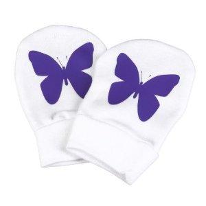 Kratzfäustlinge KRONE für Neugeborene - Kratzfäustel, Baby-Handschuhe