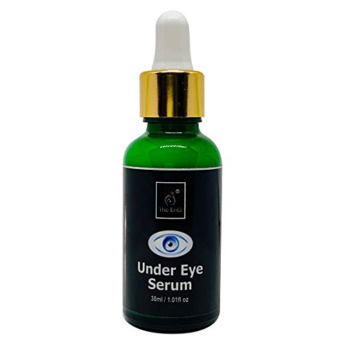 The EnQ Under Eye Serum 30ml For Dark Circles and Puffiness 98% Organic Natural For Men And Women